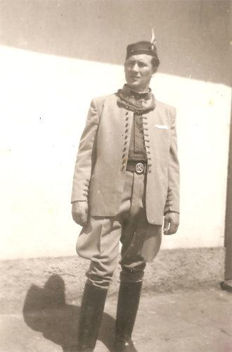 Foto: sokol Václav Horák, rok 1948