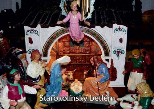 Pohled - Starokolínský betlém