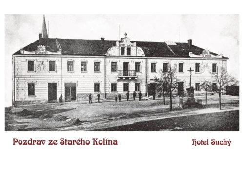 Pohlednice - reprint historické pohlednice